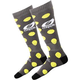O'Neal Pro MX Sokken Candy, gray/yellow